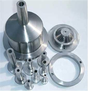 各种圆形及圆通零部件加工样品展示